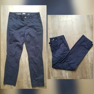 J. Crew factory Frankie stretch chino navy pants